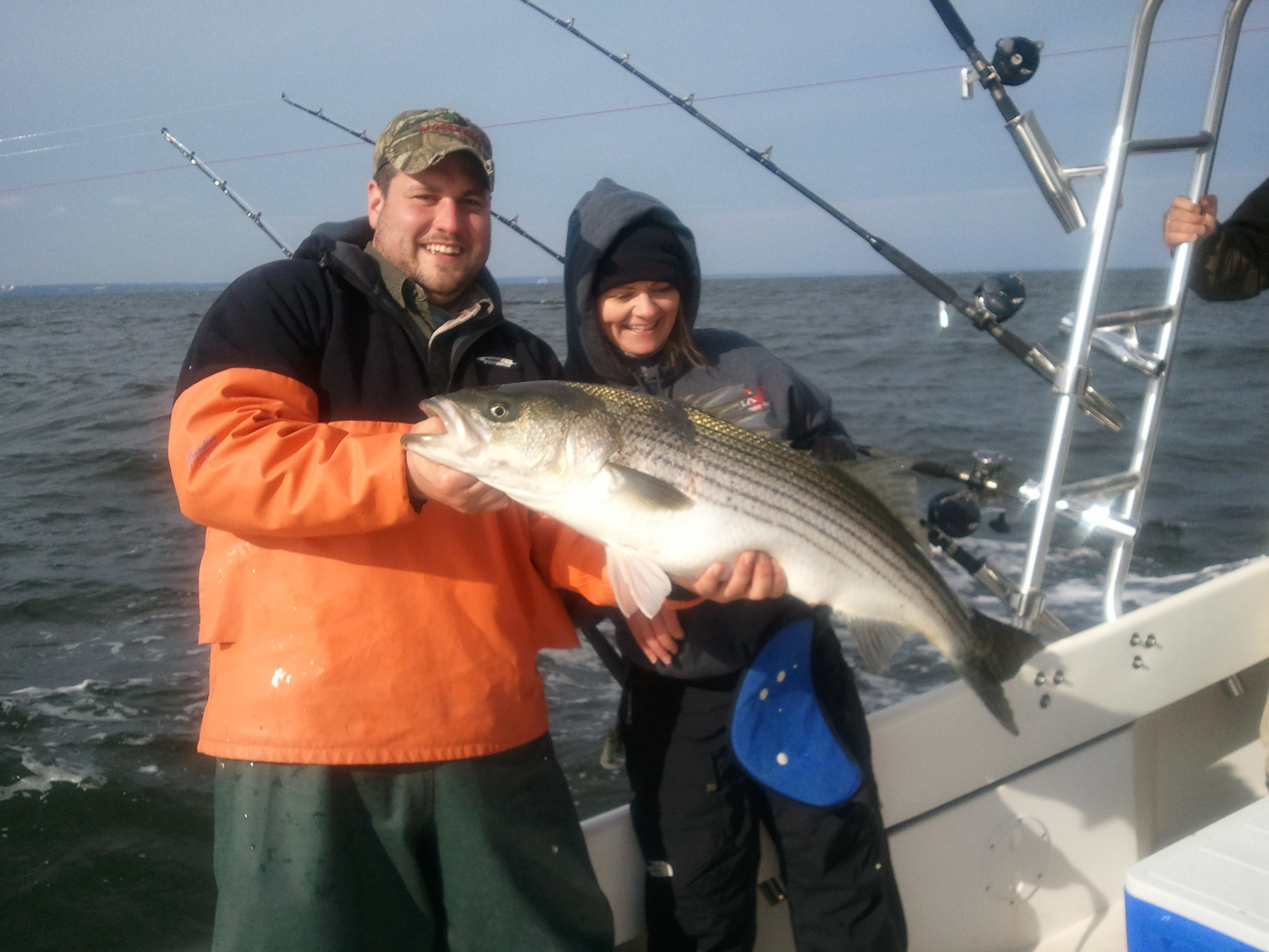 Chesapeake bay fishing charter 12 2 for Chesapeake fishing report