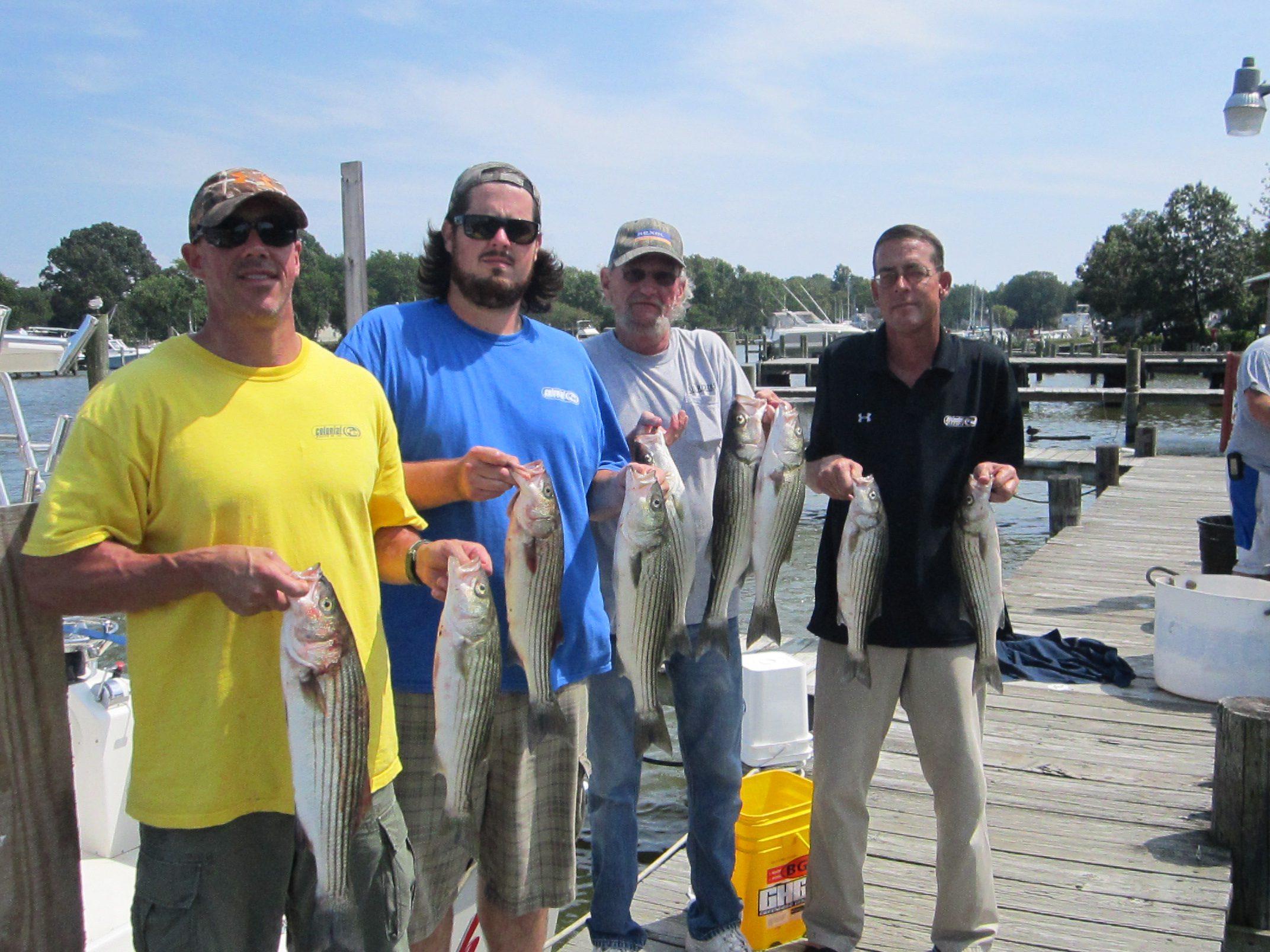 Chesapeake bay fishing report last hurrah charter fishing for Fishing spots in virginia beach