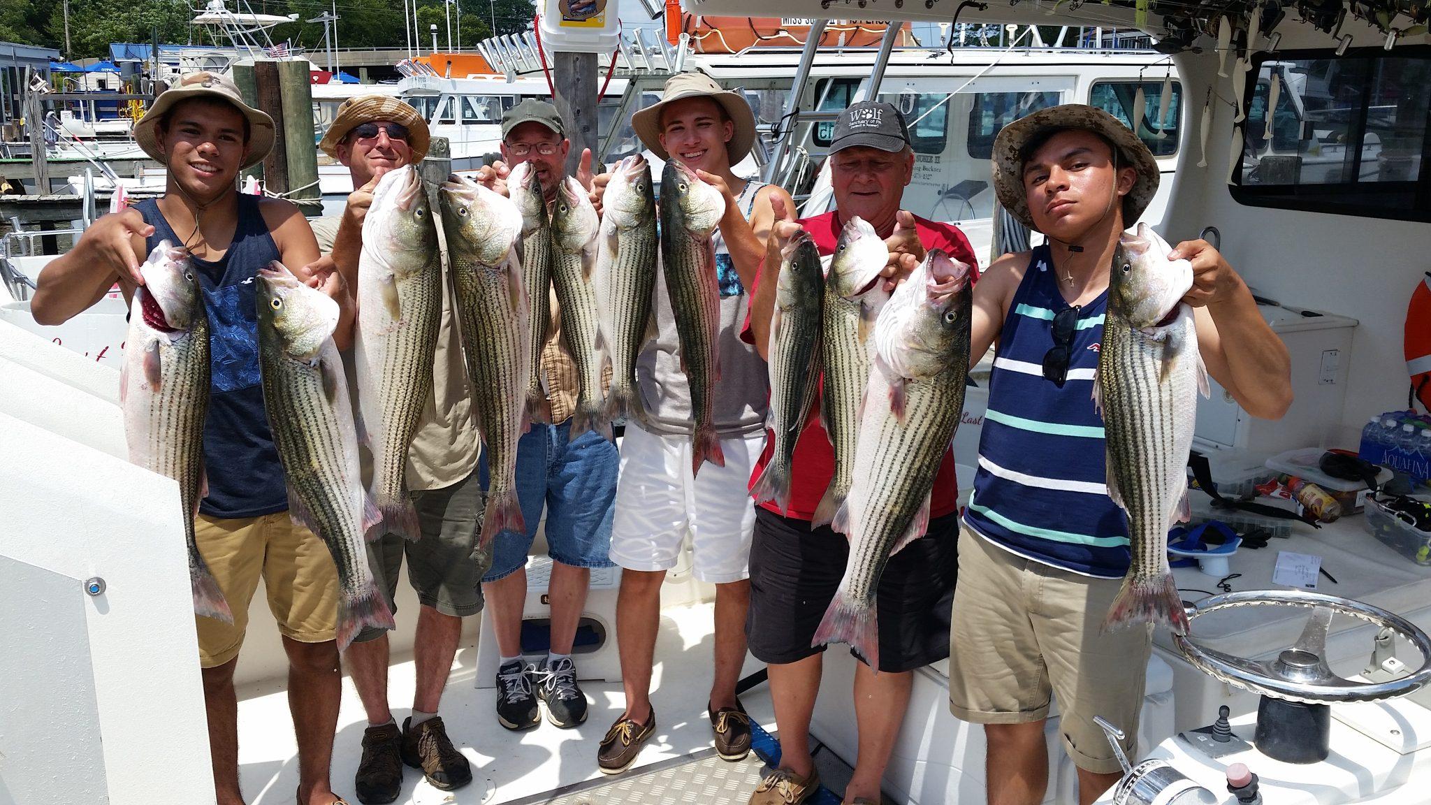 Chesapeake bay fishing charter summer fishing for Chesapeake beach fishing charters